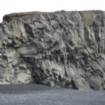 Basalt rock formation