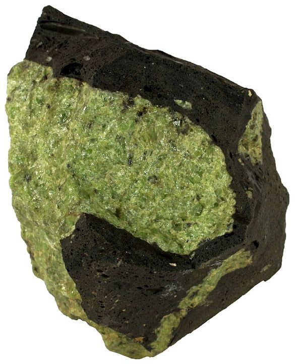Igneous Rock-Peridotite « Sandatlas- Dunite