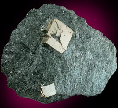 chlorite schist pyrite