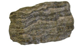 Gneiss with foliation