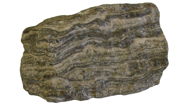 Gneiss with foliation