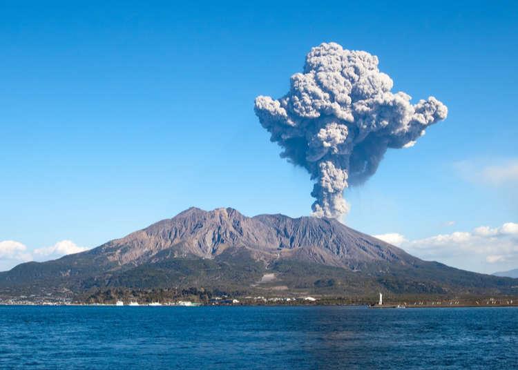 Eruption of Sakurajima volcano